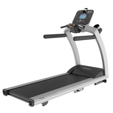 Life Fitness Treadmill T5 Track Console display